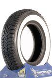 145R12 72S TL Michelin MX mit 40mm Weißwand